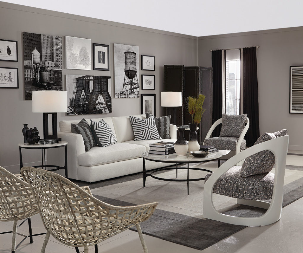 Leather used to be the standard material for heavy chesterfields and dare we say la z boys now you can find a soft leather sofa inspired by a mad men